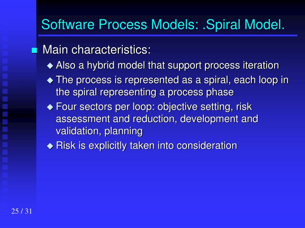 Software Process Models: .Spiral Model.