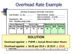 overhead rate example44