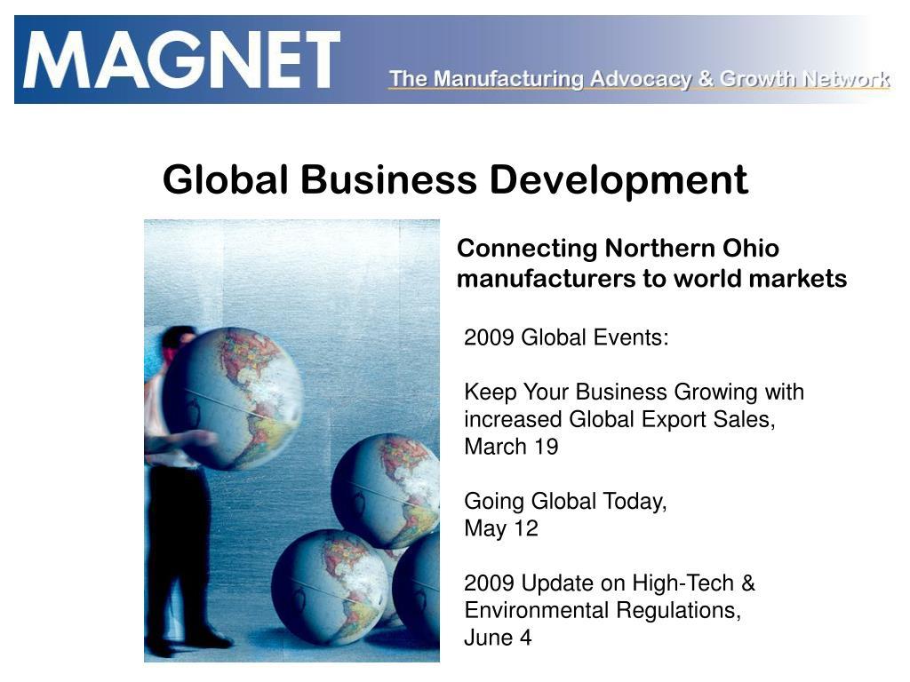 Global Business Development