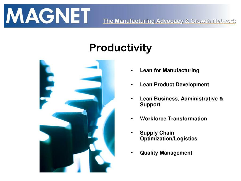 Lean for Manufacturing