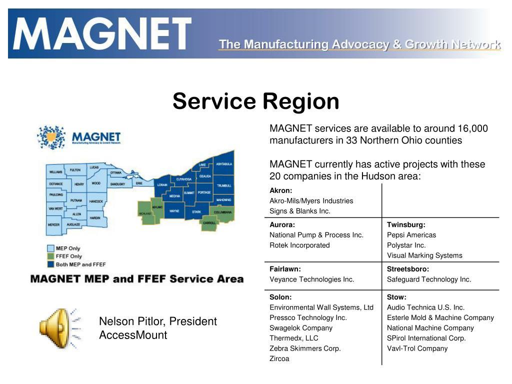 Service Region