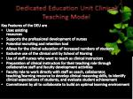 dedicated education unit clinical teaching model
