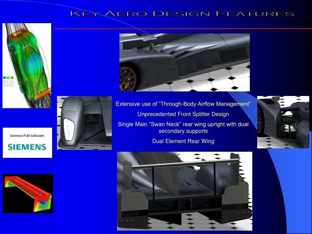 Key Aero Design Features