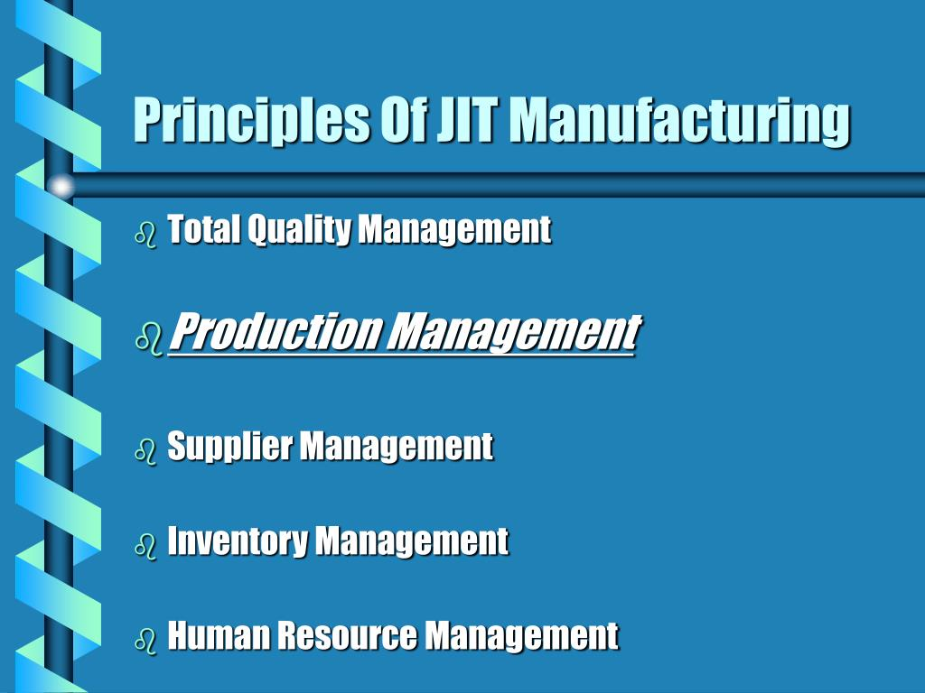 principles of inventory management
