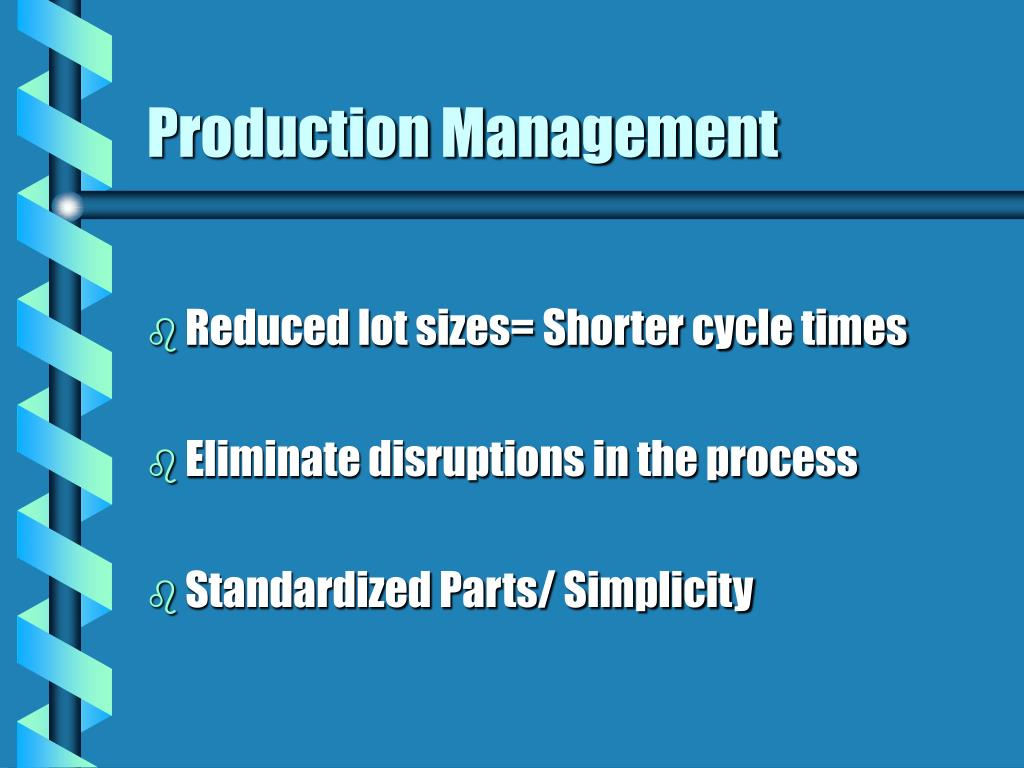 mcdonald s jit and process standardization paper When first developed in japan in the 1970s, the idea of just-in-time (jit) marked a radical new approach to the manufacturing process it cut waste by supplying parts only as and when the process required them.