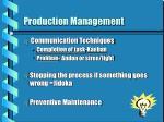 production management12