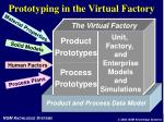 prototyping in the virtual factory