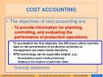 cost accounting34