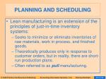 planning and scheduling20