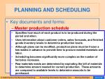 planning and scheduling22
