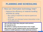 planning and scheduling26