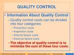 quality control103