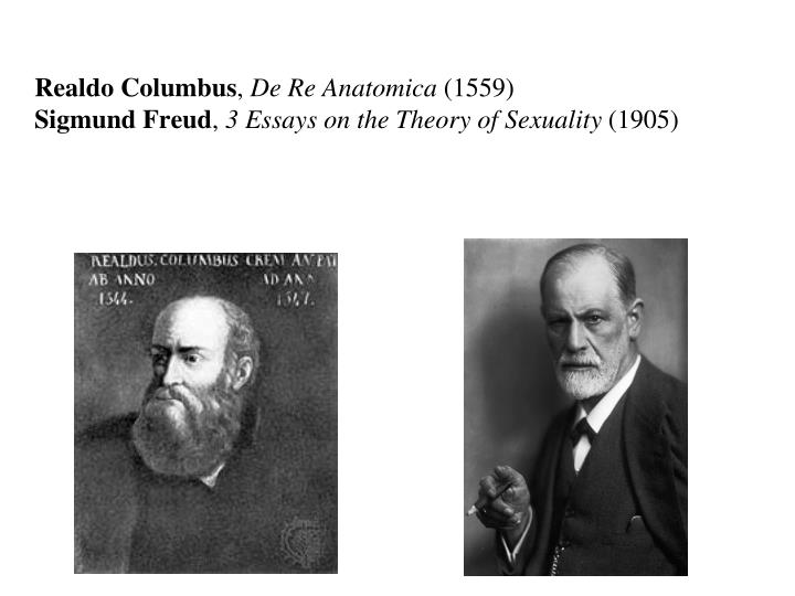 freud essays theory sexuality Sigmund freud essay by  according to freud's theories, the unconscious is the source of our motivations  regarding the topic of human sexuality freud was.