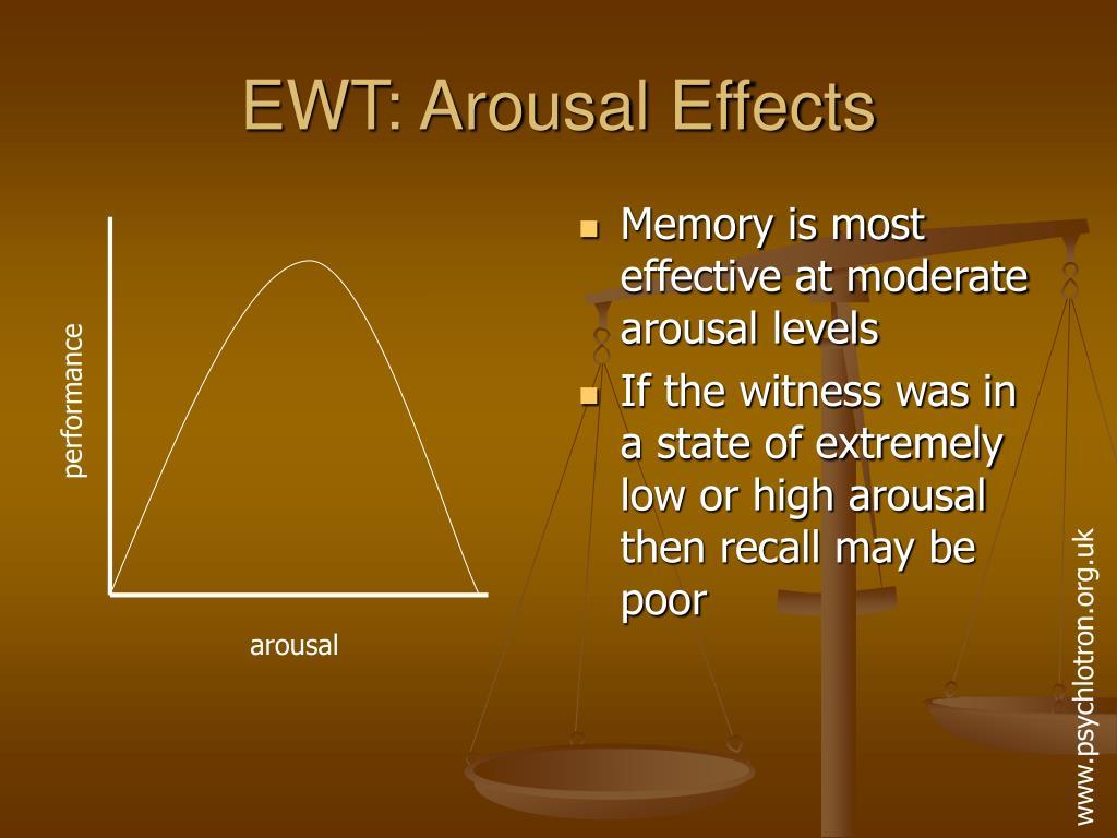 EWT: Arousal Effects