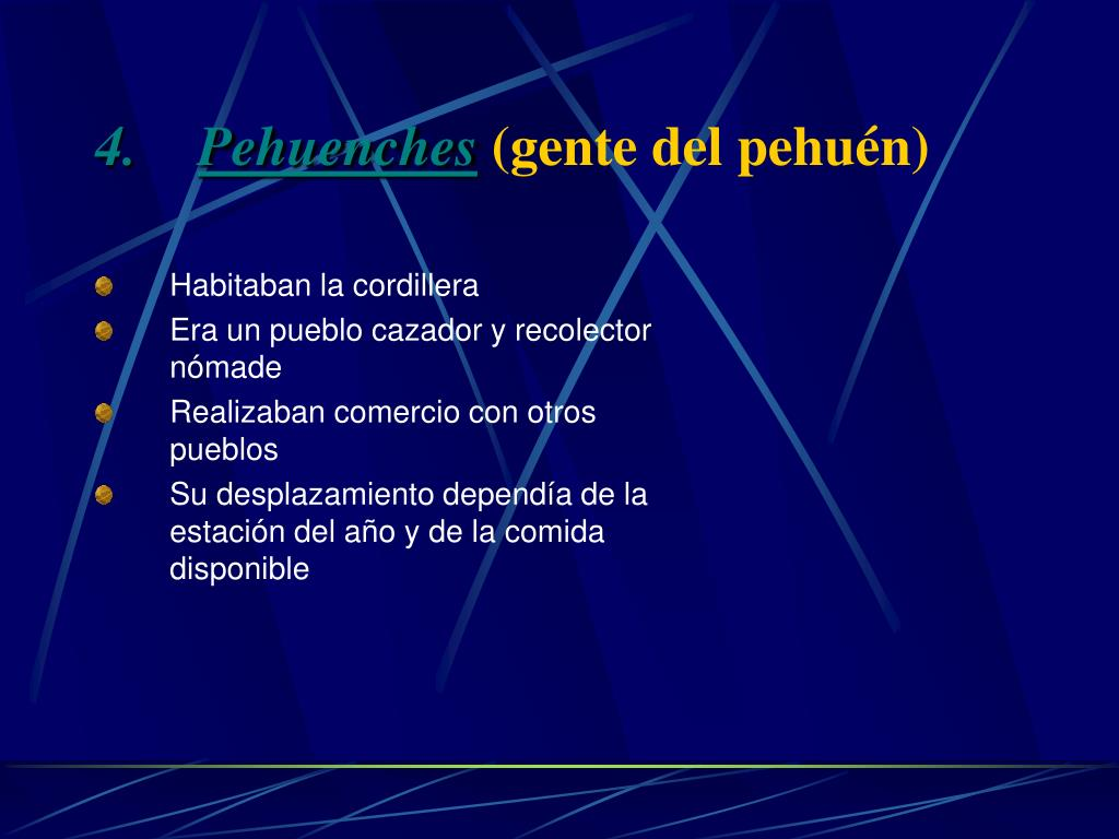 Pehuenches