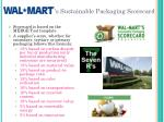 s sustainable packaging scorecard