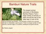 bamburi nature trails