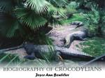 biogeography of crocodylians joyce ann boutilier