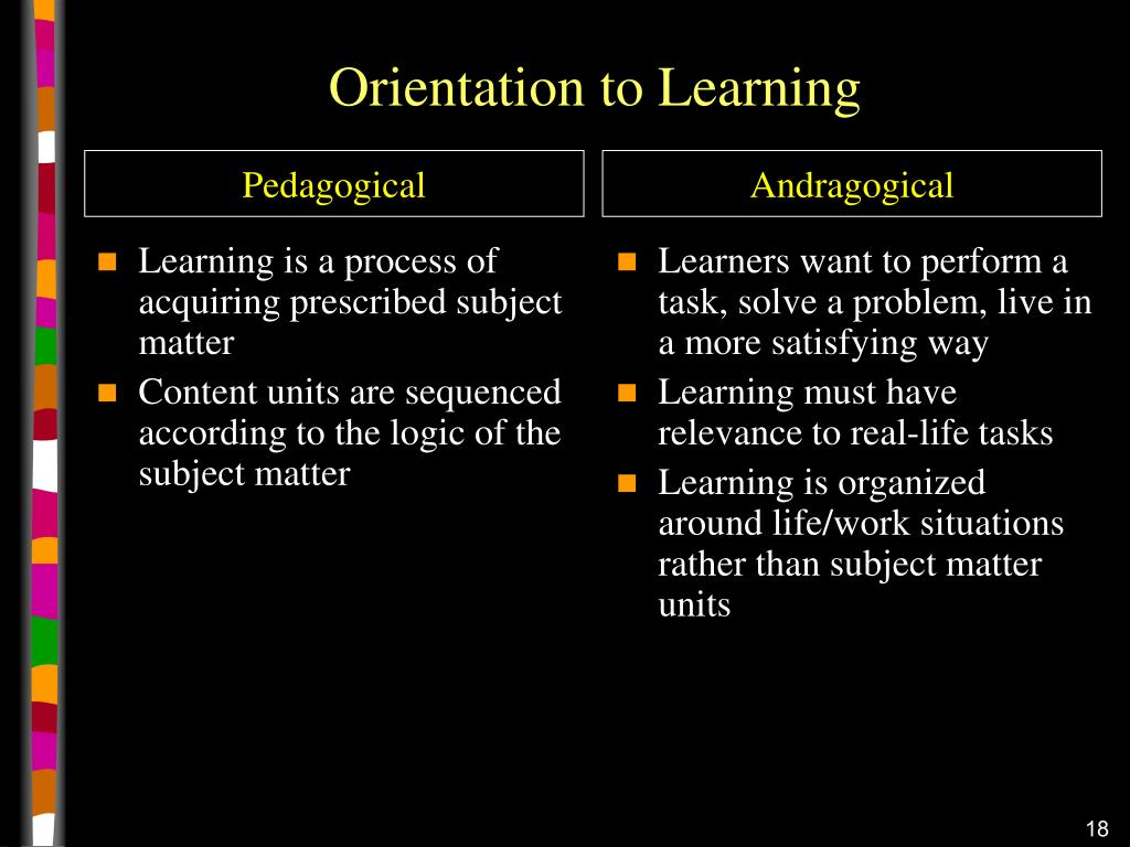 Learning is a process of acquiring prescribed subject matter