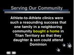 serving our community34