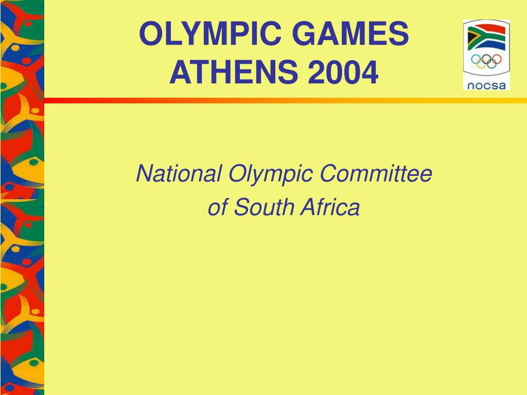 olympic games athens 2004 l.