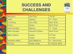 success and challenges23