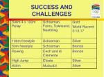 success and challenges24