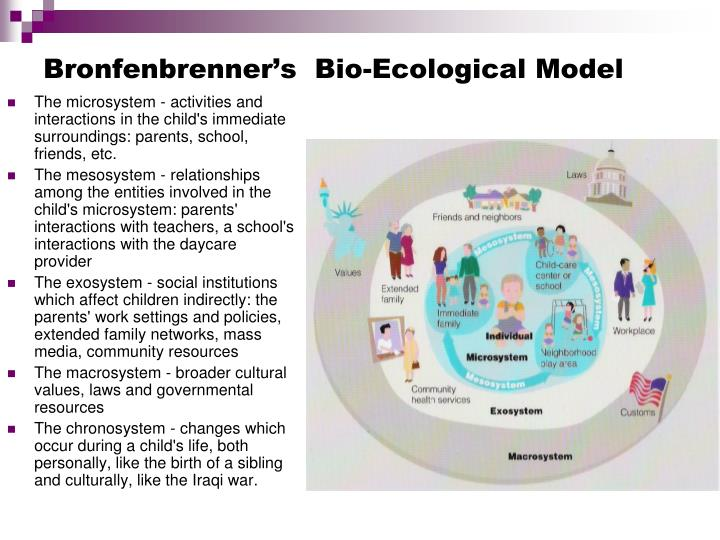 bronfenbrenners ecological model paper Bronfenbrenner's ecological systems model - psychology bibliographies - in harvard style these are the sources and citations used to research bronfenbrenner's ecological systems model.