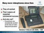 many more videophones since then