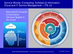 service worlds computing software information cloud and it service management itil v3