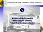 conclusion global processes local realities