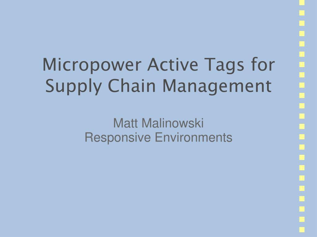 matt malinowski responsive environments l.