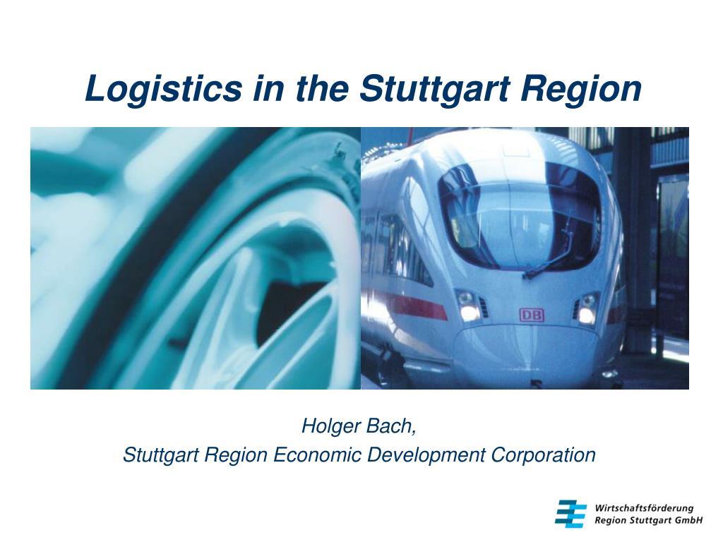 logistics in the stuttgart region l.