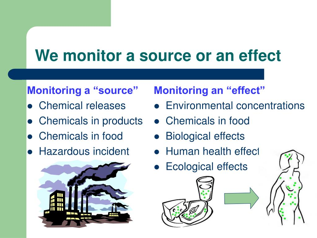 """Monitoring a """"source"""""""