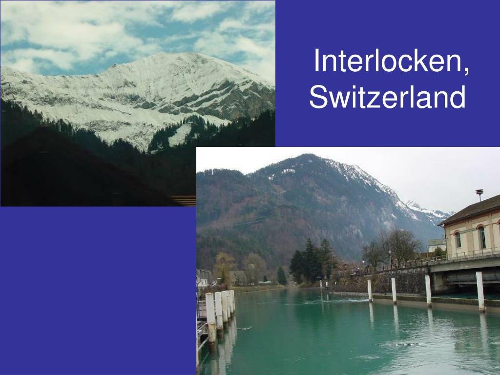 Interlocken, Switzerland