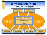introduction to net the net platform