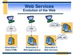 web services evolution of the web