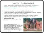 j zyki i religie w azji