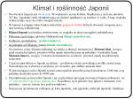 klimat i ro linno japonii