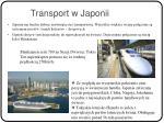transport w japonii