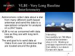 vlbi very long baseline interferometry