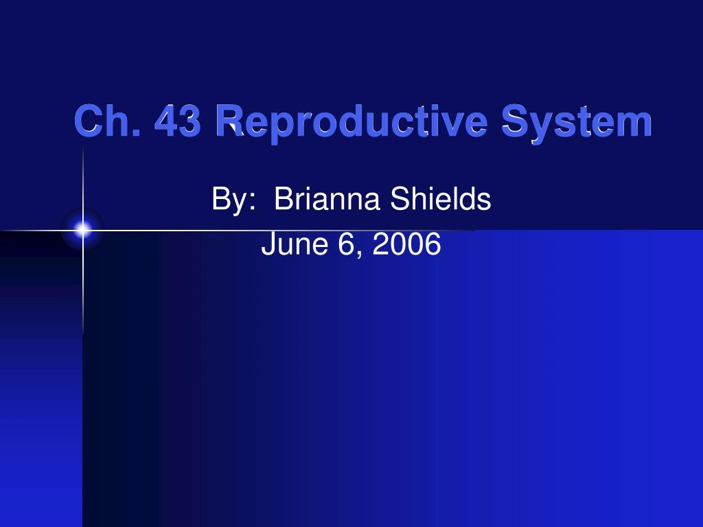 ch 43 reproductive system l.