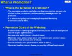 what is promotion
