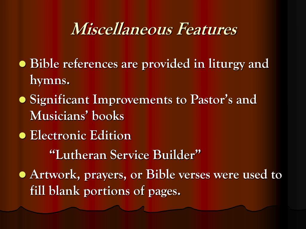 PPT - Lutheran Service Book PowerPoint Presentation - ID:430984