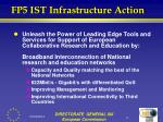 fp5 ist infrastructure action