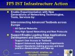 fp5 ist infrastructure action10