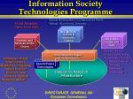 information society technologies programme