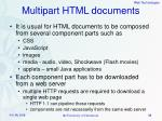multipart html documents