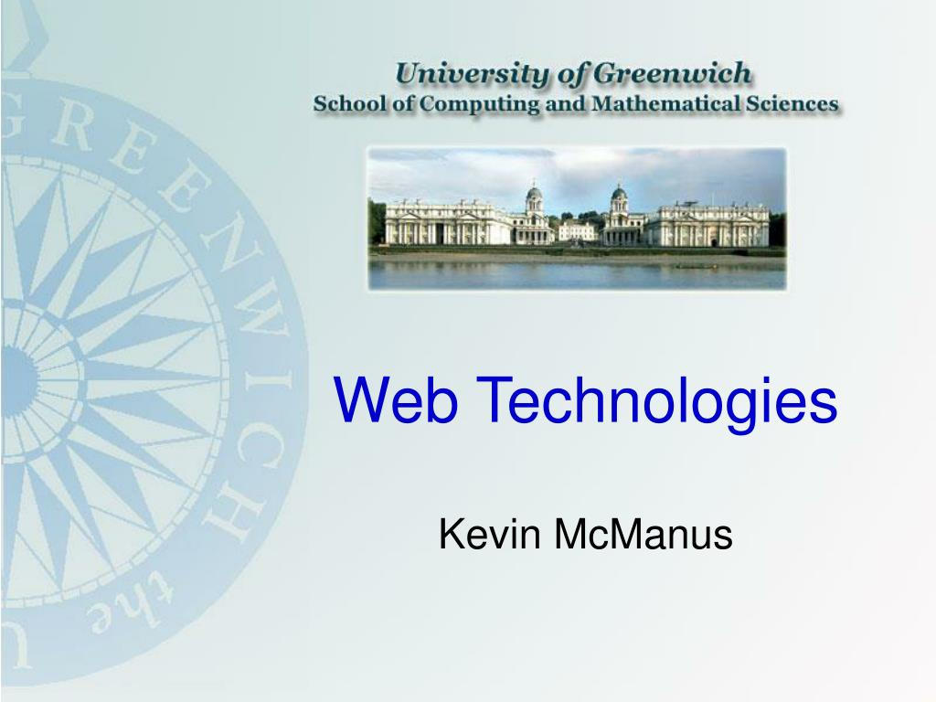 web technologies l.