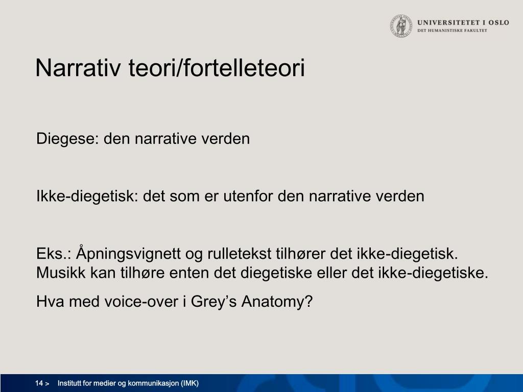 Narrativ teori/fortelleteori